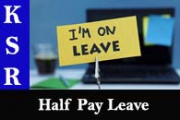 Half Pay Leave (Rule 83)