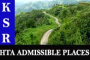 HTA admissible places in Kerala