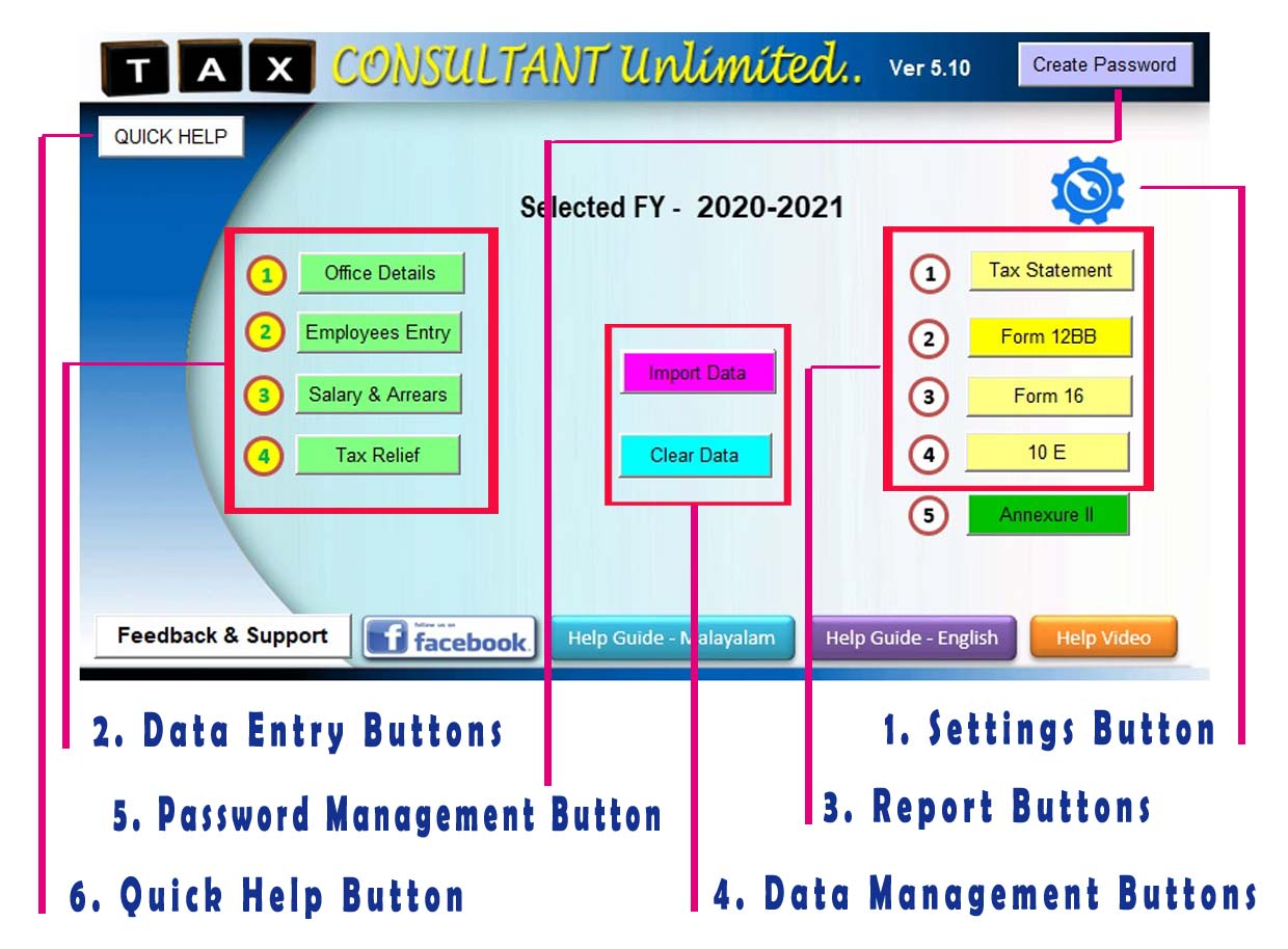 Tax Consultant Unlimited 5.10