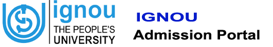 Ignou admission portal